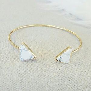 Madewell Marble Cuff Bracelet - NIP